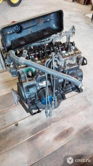 Двигатель контрактный Вольво 340. Фото 1.