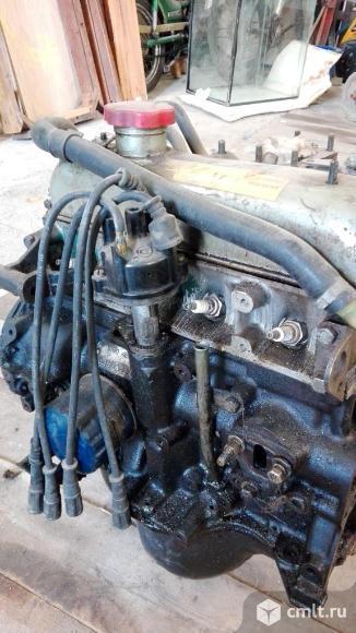 Двигатель контрактный Вольво 340. Фото 6.