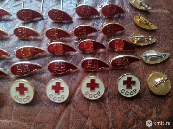 90шт. Одним лотом. 9 видов. Красный крест СССР. Фото 7.