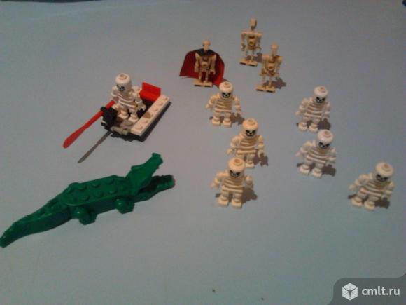 Конструктор-корабль и остров скелетов. Фото 5.