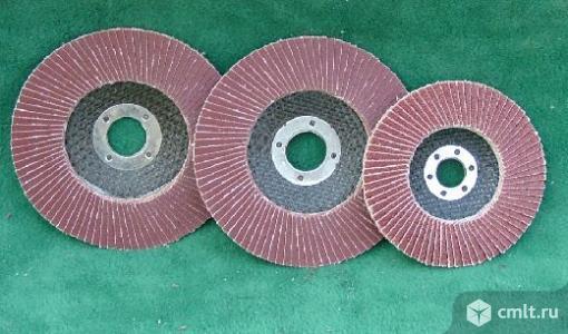 Линия по производству лепестковых шлифовальных кругов для балгарки. Фото 1.