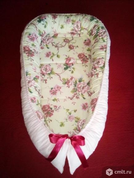 Кокон-гнездышко для новорожденных. Фото 1.