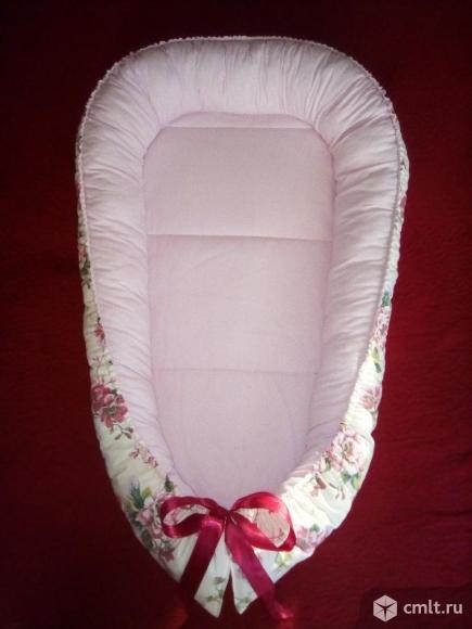 Кокон-гнездышко для новорожденных. Фото 2.