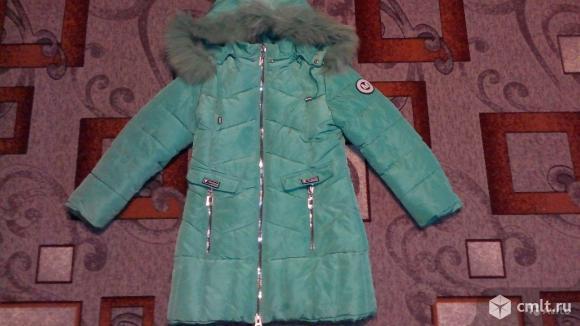 Куртка зимняя тёплая -состояние отличное!. Фото 1.