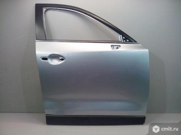 Дверь передняя правая + молдинг MAZDA CX-5 17- б/у KBY05802XE KB7W51RA0B  3*. Фото 1.