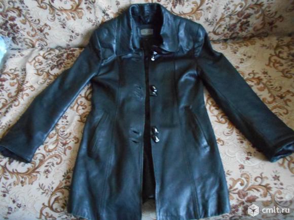 Куртка женская кожаная, натуральная. Фото 1.