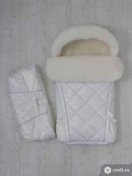 Теплый конвертик для малыша. Фото 1.