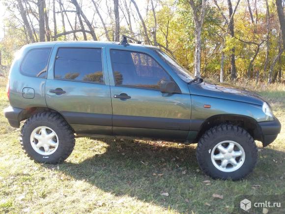 Chevrolet Niva - 2007 г. в.. Фото 1.