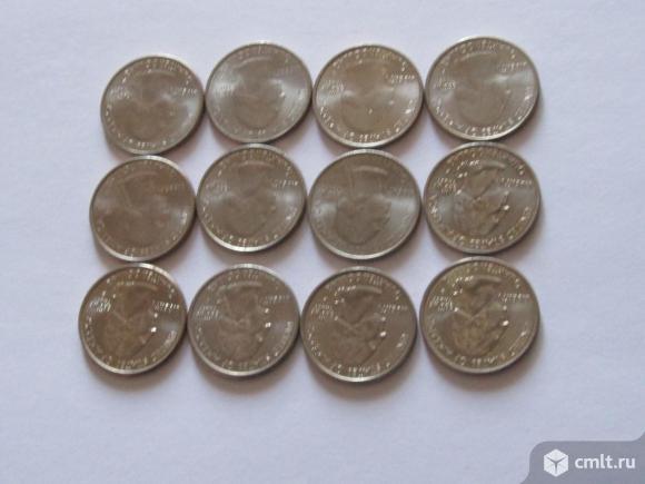25 центов США 11 штук UNC. Фото 4.