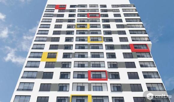 3-комнатная квартира 91,65 кв.м. Фото 1.