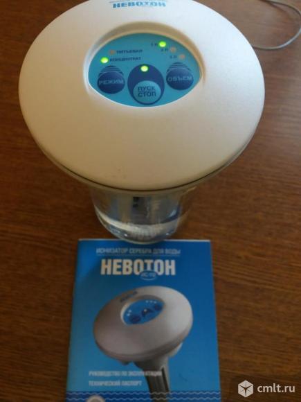 """Ионизатор серебра для воды """"Невотон ИС-112"""". Фото 1."""