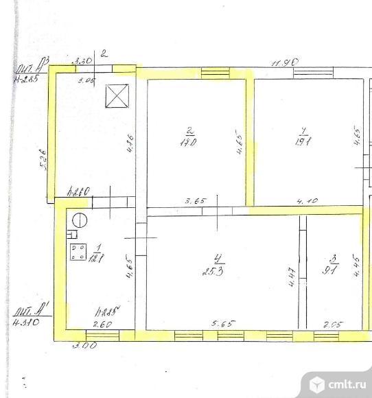 Часть дома 77 кв.м. Фото 20.