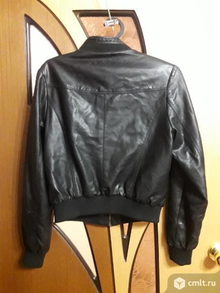 Куртка из кож.зам. Фото 3.