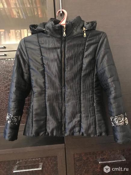 Куртка из ткани. Фото 1.