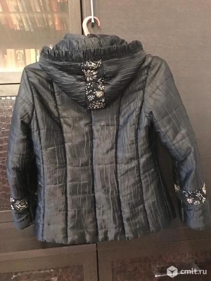 Куртка из ткани. Фото 2.