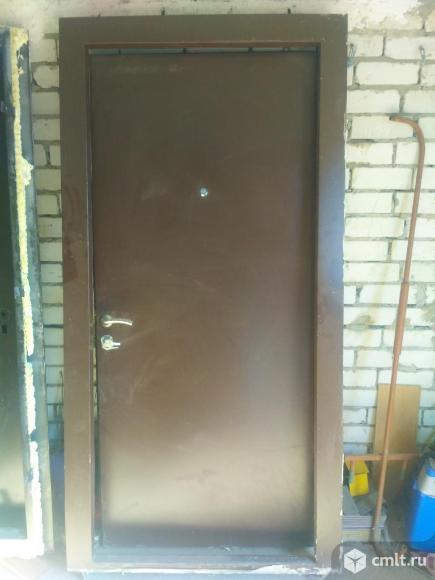 Двери входные металлические. Фото 1.