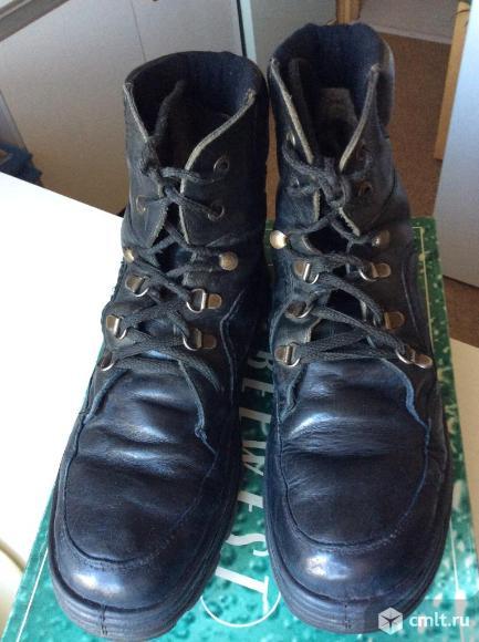 Ботинки зимние Marco, натуральная кожа р.40. Фото 2.