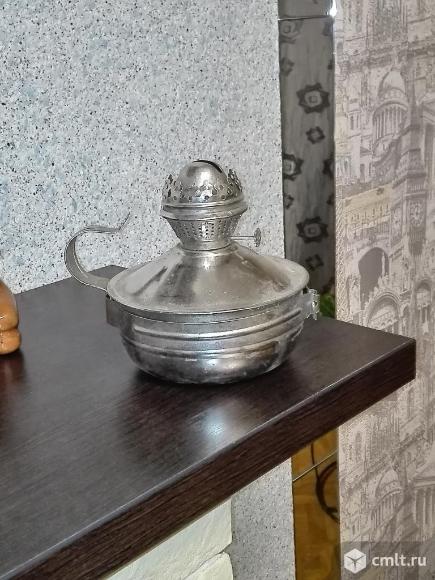 Лампа керосиновая без колбы, новая, СССР.. Фото 2.
