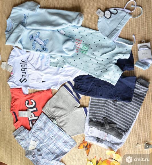 Новая брендовая одежда 0-4 месяца. Фото 1.