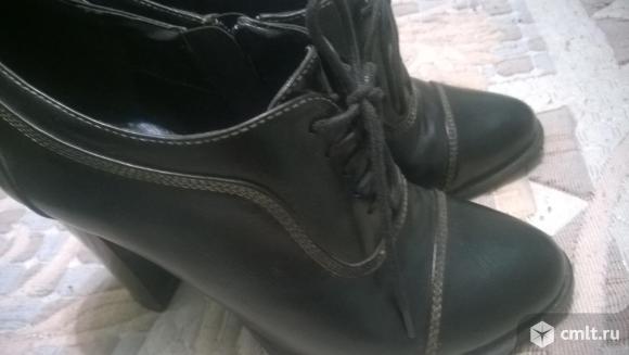 Продам ботинки/ботильоны Zenden.. Фото 1.