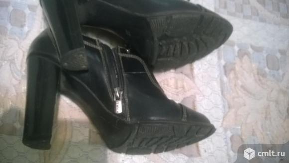 Продам ботинки/ботильоны Zenden.. Фото 4.