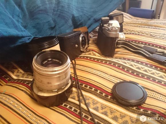 Фотоаппарат пленочный Зенит-3м в комплекте. Фото 3.