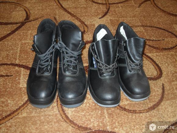 Ботинки рабочие, новые. Фото 1.