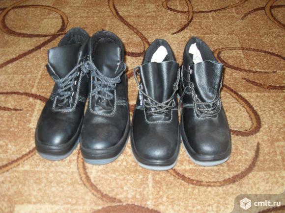 Ботинки рабочие, новые. Фото 2.