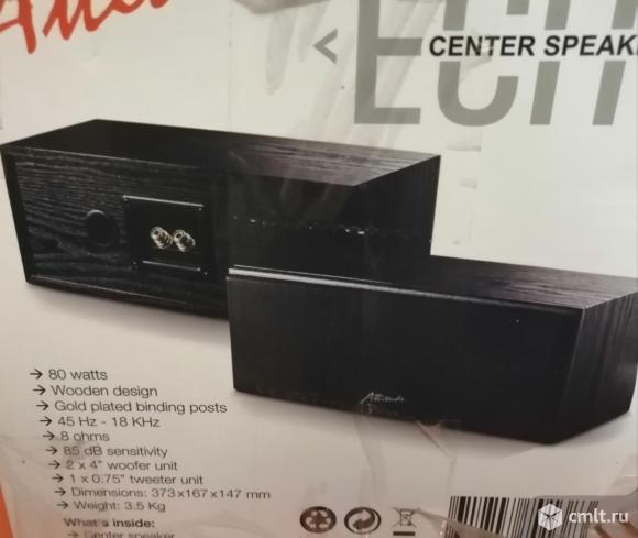 Новая 80 Вт акустическая система Attitude Echo. Фото 1.