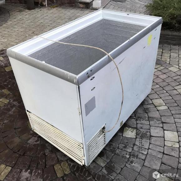 Продаем б/у морозильные лари 400л, 500л. Фото 1.