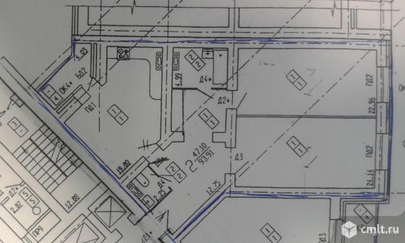 2-комнатная квартира 94 кв.м. Фото 1.
