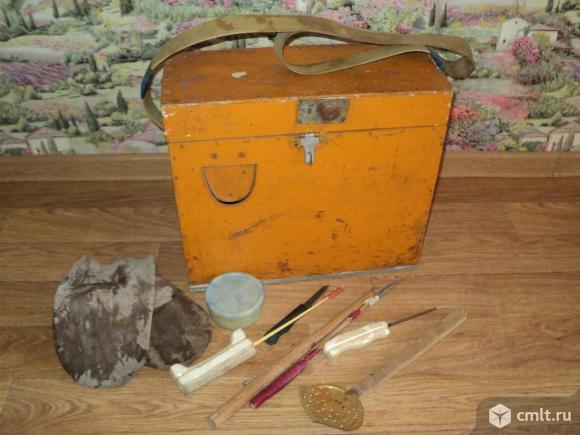 Ящик рыбацкий. Фото 1.