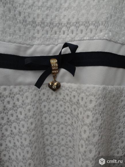 Нарядная белая блузка. Фото 3.