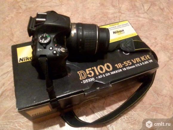 Фотоаппарат цифровой Nikon. Фото 1.