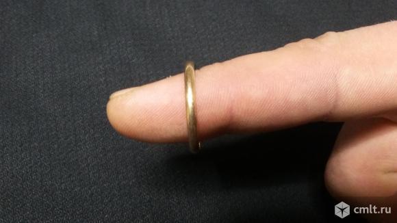 Кольцо золотое. Фото 2.