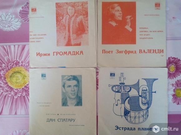 Пластинки гибкие (СССР), 22 шт.. Фото 1.