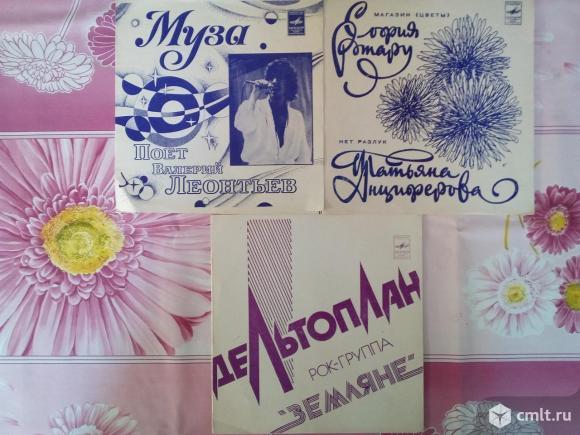 Пластинки гибкие (СССР), 22 шт.. Фото 5.