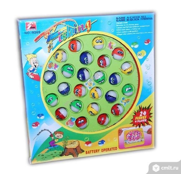 Развивающая игрушка- Рыбалка. Фото 1.