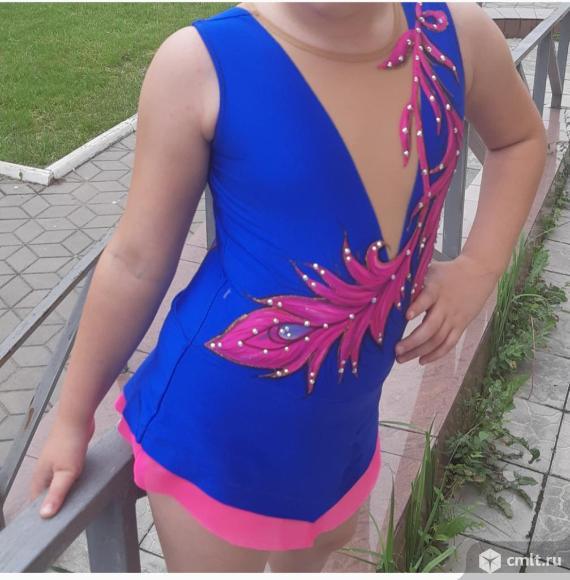 Продам счастливый гимнастический купальник, принесший призовые места на соревнованиях. Фото 1.