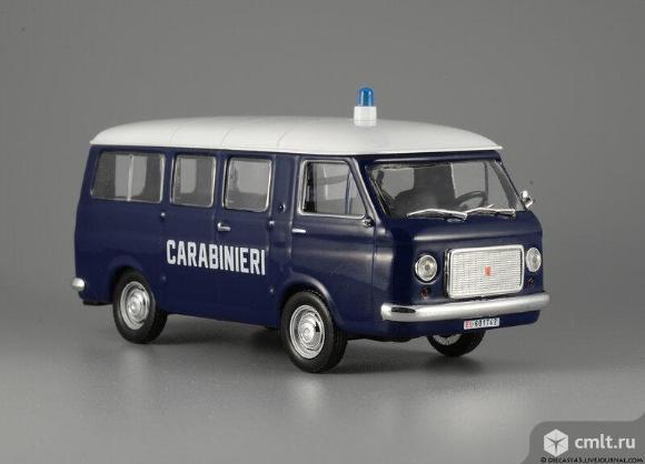Полицейские машины мира 2 FIAT 238 CARABINIERI 1967. Полиция италии. Фото 1.