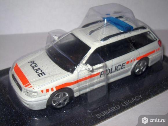 Полицейские машины мира 58 SUBARU LEGACY. Полиция Швейцарии. Фото 7.