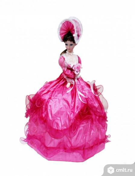 Новая Игрушка-кукла зонтик музыкальная, механическая. Фото 1.