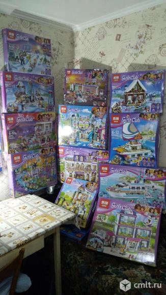 Новые наборы Lepin (аналог Лего) для девочек. Фото 1.