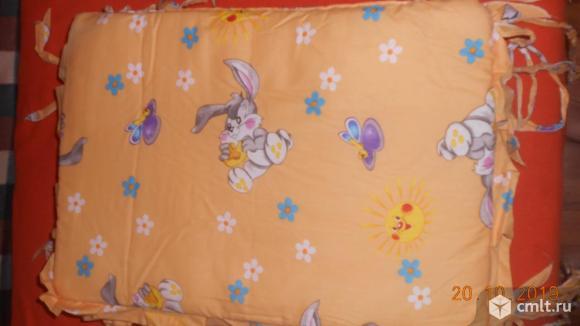 Продам бортики на детскую кроватку. Фото 1.