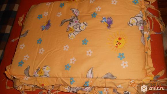 Продам бортики на детскую кроватку. Фото 2.
