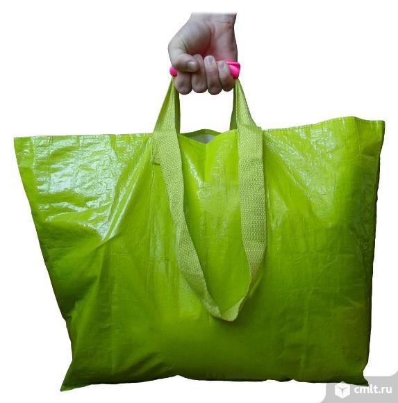 Ручка для переноски пакетов на большой сумке