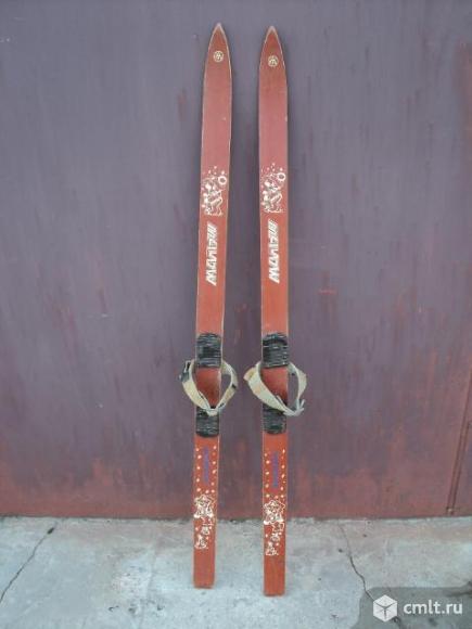 Лыжи детские. Фото 1.