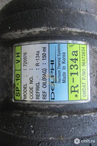 для Chevrolet Aveo т200 компрессор кондиционера б/у номер 96539394, 96473633, 95955950, 95925480, 93473634