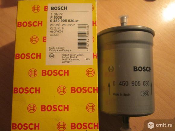 Фильтр топливный BOSCH для иномарок. Фото 1.