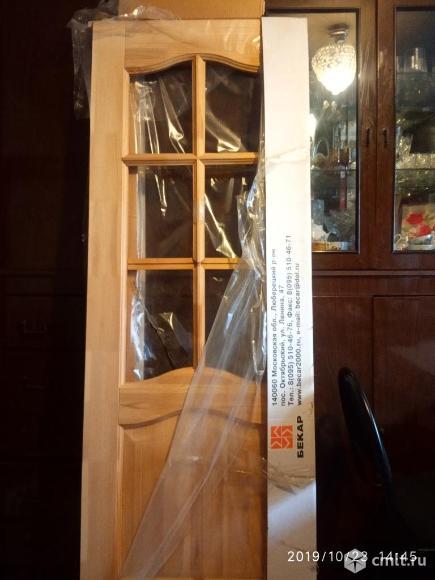 Дверь на 70 из дерева. Фото 1.